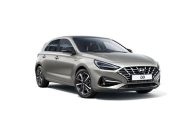 Right-front view of the new Hyundai i30.