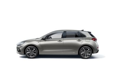 Side view of the new Hyundai i30.